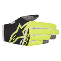 ALPINESTARS radar flight glove - (black/yellow fluo)