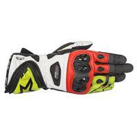 ALPINESTARS supertech glove - (black/yellow fluo/red)