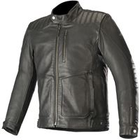 ALPINESTARS crazy eight giacca pelle - (nero)