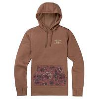 BURTON wms oak pullover hoodie tech fleece