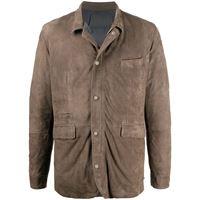 Barba giacca a pannelli - color marrone