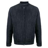 Barba giacca con zip - blu