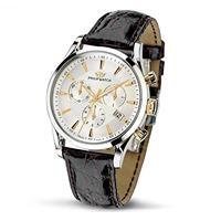 Philip Watch sunray (crono al quarzo, quadrante bianco)
