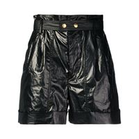 ISABEL MARANT shorts donna sh026719e007i01bk cotone nero
