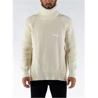 GCDS maglione turtleneck sweater uomo