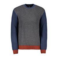 EDWIN maglione girocollo tri color line sweather