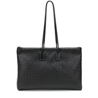 Bottega Veneta shopper in pelle intrecciata