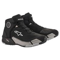 Alpinestars scarpe moto Alpinestars cr-x drystar riding nero cool grigio
