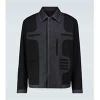 Fendi giacca in lana in lana