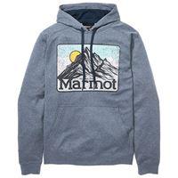 Marmot mountain peaks m dark indigo heather