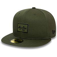New Era essential 5950 ne nov, berretto unisex-adulto, verde medio, 7