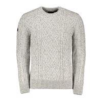 SUPERDRY maglione girocollo treccia jacob