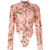 Y/Project camicia a fiori - rosa