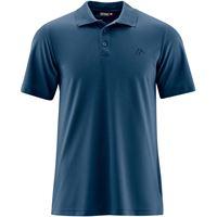 Maier Sports maglietta polo ulrich uomo blu