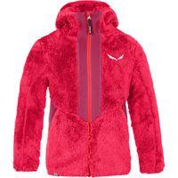 Salewa giacca con cappuccio puez highloft bambino rosso