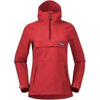 Bergans giacca a vento nordmarka donna rosso