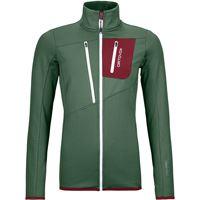 Ortovox giacca fleece grid donna verde