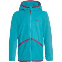 Vaude giacca felpata con cappuccio pulex bambino blu