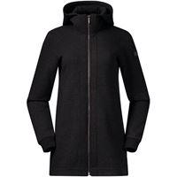 Bergans cappotto in lana oslo donna grigio