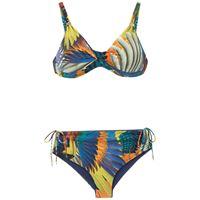 Lygia & Nanny set bikini marcela con stampa - multicolore