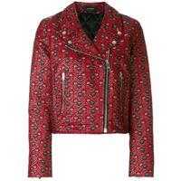 Isabel Marant giacca biker 'heaton' - rosso