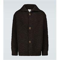 Bottega Veneta cardigan oversize in lana
