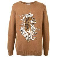 Ports V maglione tiger - marrone