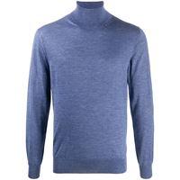 Cruciani maglione a collo alto - blu