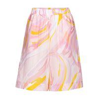 Emilio Pucci Beach shorts a stampa in cotone e seta