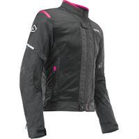 Acerbis giacca moto donna estiva Acerbis ramsey my vented 2.0 ce nero rosa