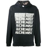 Alchemist felpa con effetto vintage - nero