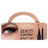 zeta farmaceutici spa euphidra cofanetto beauty a porter 1 matitone occhi waterproof + 1 cono kajal