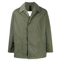 Mackintosh giacca-camicia monopetto - verde