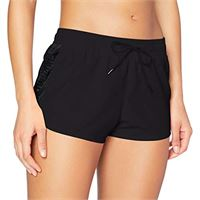 Calvin Klein mesh insert short pantaloncini casual, pvh nero, s donna