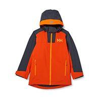 Helly Hansen terrain jacke, giacca bambini, patrol, arancione, 14