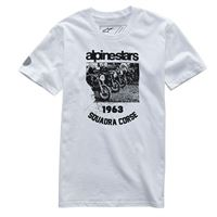 ALPINESTARS t-shirt crew bianco - ALPINESTARS