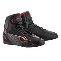 ALPINESTARS scarpa faster-3 nero grigio rosso - ALPINESTARS