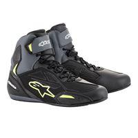 ALPINESTARS scarpa faster-3 drystar nero grigio giallo - ALPINESTARS