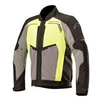 ALPINESTARS giacca durango grigio giallo nero - ALPINESTARS