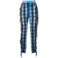 Alchemist pantaloni a quadri - blu