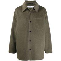 Acne Studios giacca camicia oversize - grigio