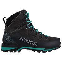 Montura scarponi trekking tre cime evo goretex eu 37 anthracite / ice blue
