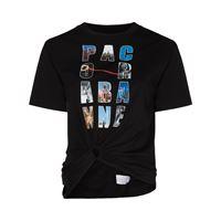 Paco Rabanne t-shirt con stampa - nero