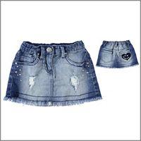 DODIPETTO mini gonna jeans 5u237 bambina DODIPETTO