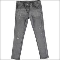 IDO jeans da ragazza lungo 4u543 delavato IDO