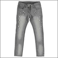 IDO jeans ragazza lunghi 4v933 elasticizzati IDO