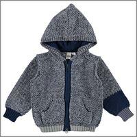 Ido maglione aperto con cappuccio 4v569 bambino ido