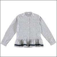 IDO camicia manica lunga con balza 4v991 ragazza IDO