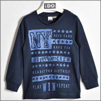 IDO maglia manica lunga in cotone 4w207 bambino IDO