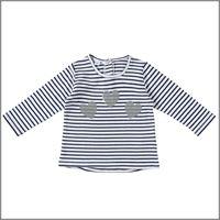 IDO t-shirt manica lunga rigata 4w328 bambina IDO